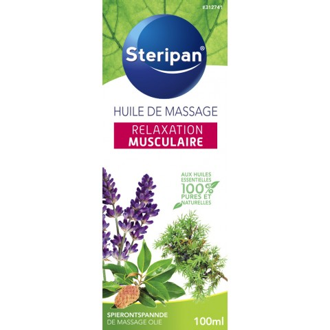 HUILE DE MASSAGE RELAXATION MUSCULAIRE
