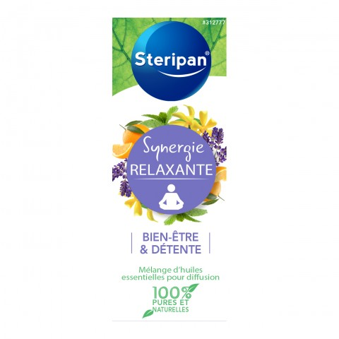 SYNERGIE RELAXANTE POUR DIFFUSION